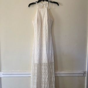 Off white lace dress Size 4